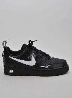 Nike Air force 1 07 lv8 utility Blk wht blk tour yellow