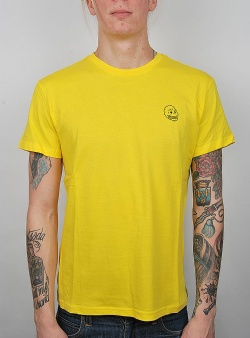 Cheap Monday Standard tee tiny skull Solar Yellow