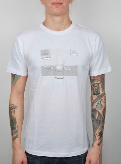 Rip n Dip Go away tee White