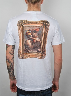 Rip n Dip Steed tee White