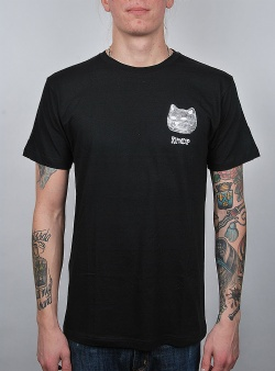 Rip n Dip Illusion tee Black