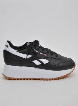 Reebok Classic leather double Black white primal red