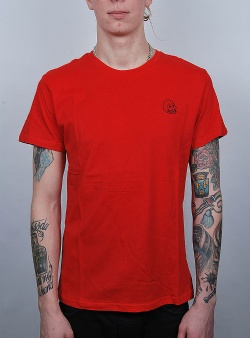 Cheap Monday Standard tee tiny skull Scarlet red