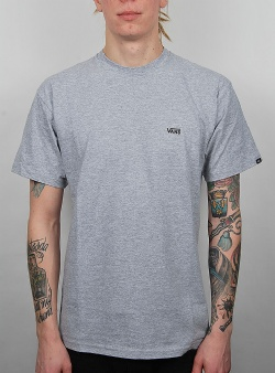 Vans Left chest logo tee Athletic heather