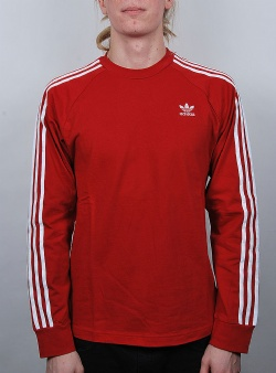 Adidas 3 stripes ls tee Powred