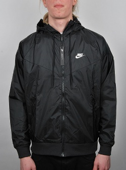 Nike Heritage windrunner jacket Black