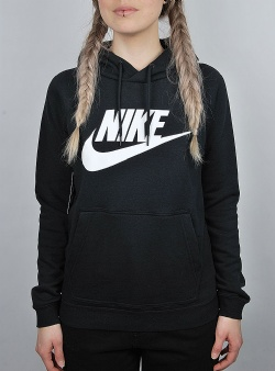 Nike Nsw rally hood Black white