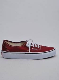 Vans Authentic Rumba red true white