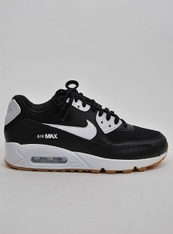 Nike Air max 90 womens Black white gum light brown