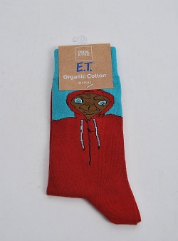 Dedicated Extra terrestrial sock Red