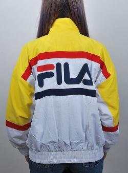 Fila Kaya wind jacket Empire yellow bright white black