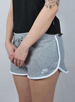 Nike Heritage short flc Dark grey