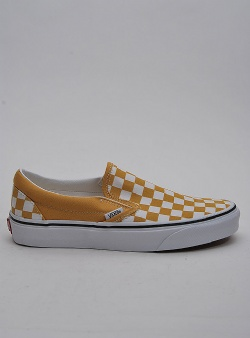 Vans Classic slip-on Checkerboard yolk yellow true white
