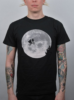 Dedicated x E.T. Moon tee Black