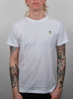 Dedicated Banana tee White