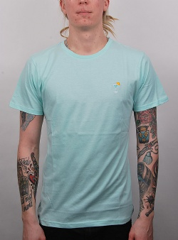 Dedicated Cocktail tee Blue tint