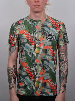Hype Tropical camo tee Multi