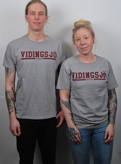 Sportif Vidingsjö tee Grey heather