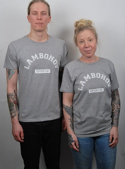 Sportif Lambohov tee Grey heather