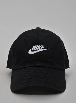 Nike H86 futura washed cap Black