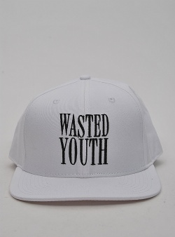 WeSC Wasted snapback White