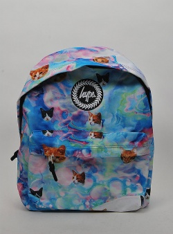 Hype Holo kitty backpack Multi