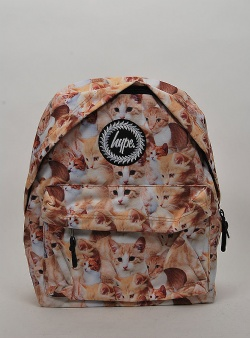 Hype Kitty cat backpack Multi