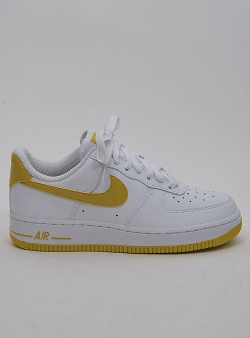 Nike Air force 1 womens White bright citron
