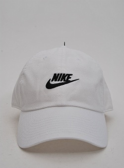 Nike H86 futura washed cap White black