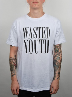 WeSC Mason wasted youth tee White