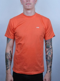 Vans Left chest logo tee Emberglow