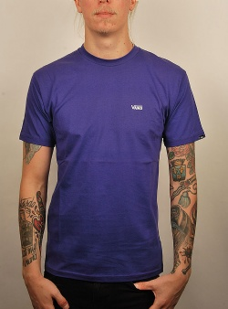 Vans Left chest logo tee Vans purple