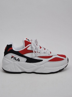 Fila V94m low wmn White fila navy fila red