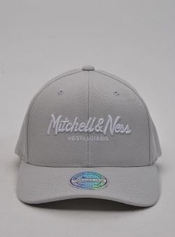 Mitchell and Ness Pinscript 110 flexfit snapback Smoke