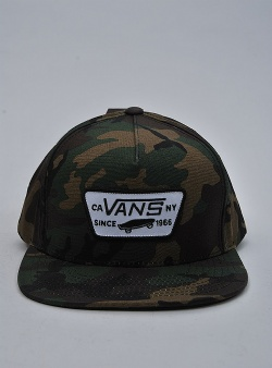 Vans Full patch snapback classic Camo