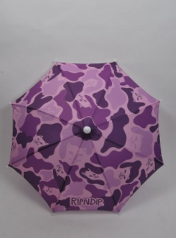 Rip n Dip Real shadey umbrella hat Purple camo
