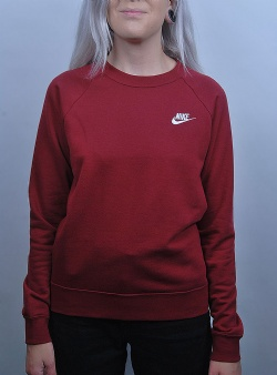 Nike Nsw essential crew flc Team red