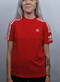 Adidas Lock up tee Scarlet red