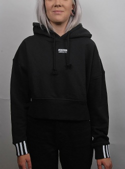 Adidas Vocal crop hood Black