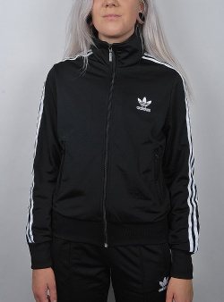Adidas Firebird w track top Black