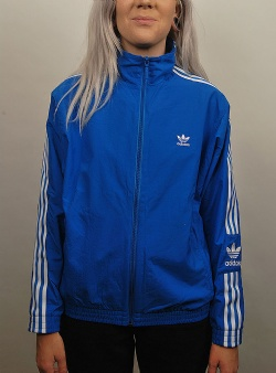Adidas Lock up w track top Blubir