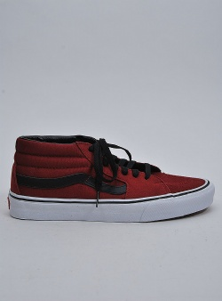Vans Sk8 mid Biking red true white