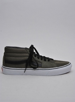 Vans Sk8 mid Grape leaf true white