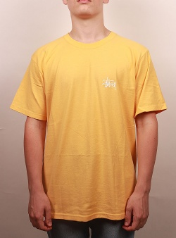Stussy Basic tee Orange