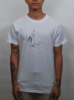 Dedicated Closing time tee White