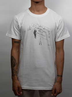 Dedicated Chainsaw shopping tee Offwhite