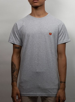 Dedicated Beer cups tee Grey melange