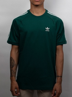 Adidas BLC 3 stripes tee Cgreen