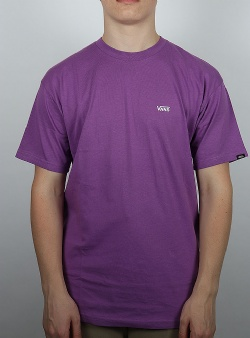 Vans Left chest logo tee Dewberry