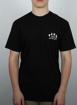 Vans Tied up tee Black